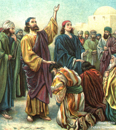 Barnabas - Men of the bible