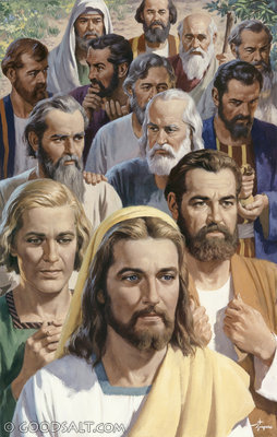 YESUS DAN KEDUABELAS MURID-NYA