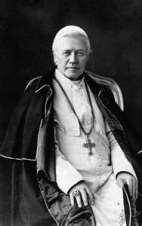 POPE ST. PIUS X OFS [PONTIFICATE: 1903-1914]