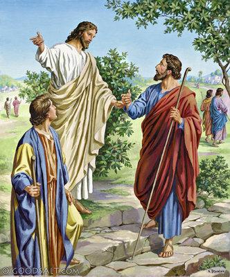 YESUS MENGUTUS MURID-MURID PERGI BERDUA-DUA