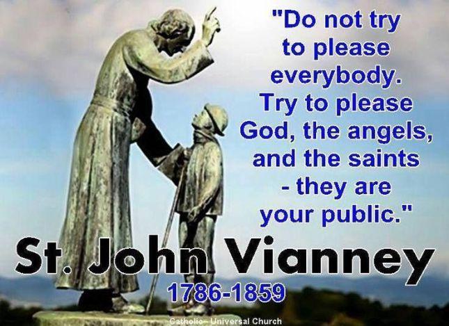 JOHN MARY VIANNEY