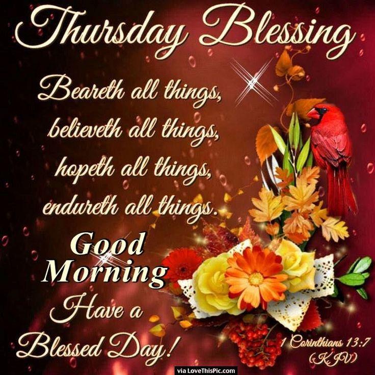 2019 4 Thursday Blessings A Christian Pilgrimage